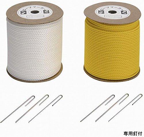 [해외]이브 뉴 (EVERNEW) 로프 마커 6 × 200 EKA183 흰색/Evanew (EVERNEW) rope marker 6 × 200 EKA 183 white