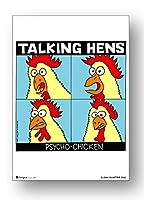 POS-067 Talking Hens ロックシリーズ B5サイズミニポスター