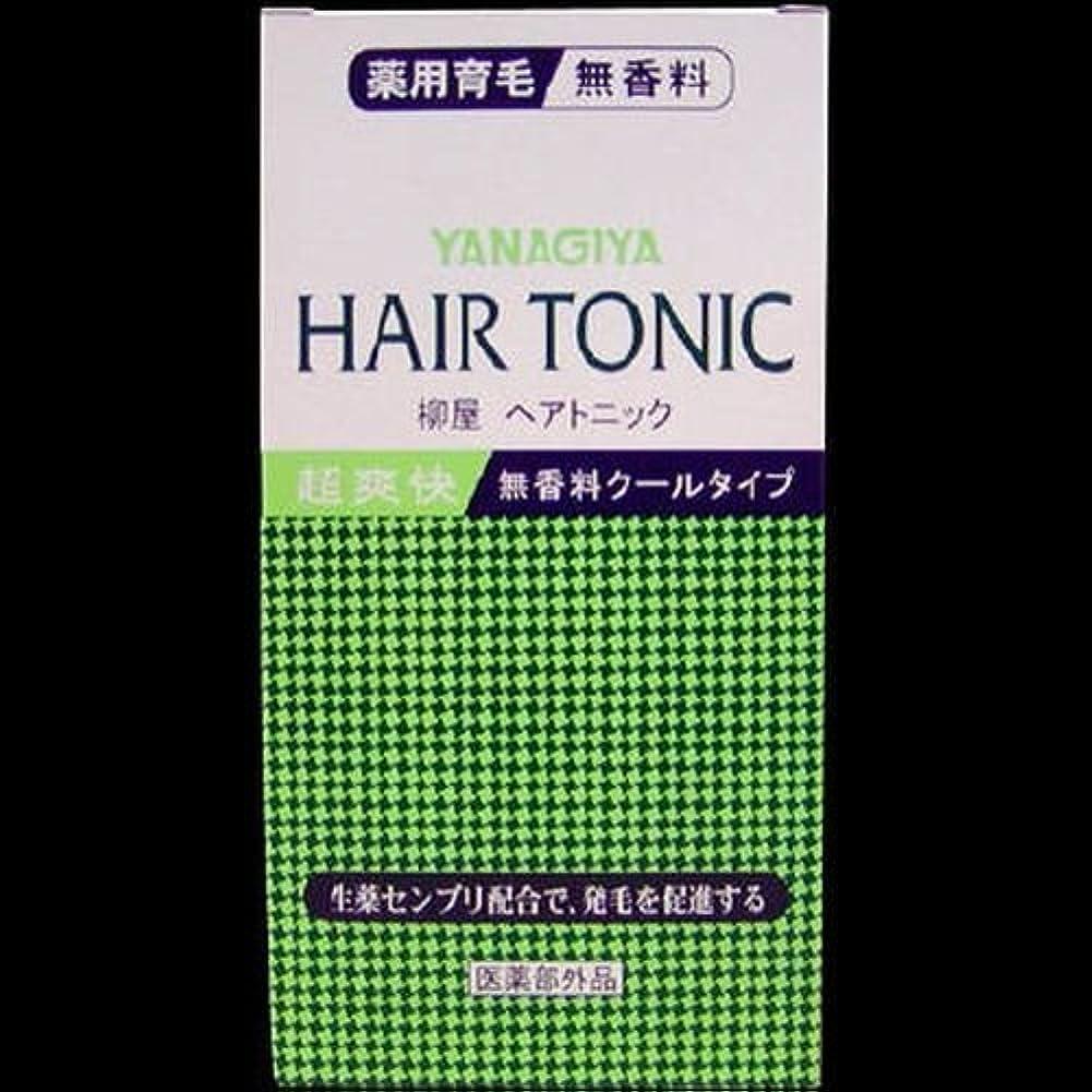 アナリスト燃料基礎【まとめ買い】柳屋 ヘアトニック 無香料クールタイプ ×2セット