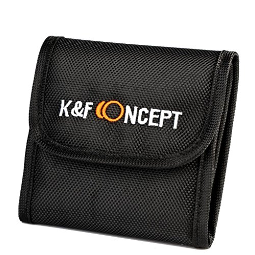 K&F Concept フィルターケース 3枚用 フィルター...