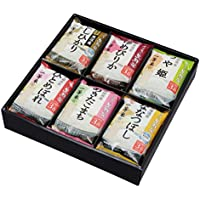 生鮮米 ギフトBOX 3合×6種(2袋)食べ比べセット 12袋入 5.4kg 包装タイプ 平成28年産