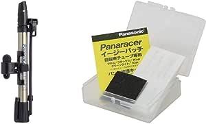 パナレーサー(Panaracer) 携帯空気入れ ミニフロアポンプ BFP-AMAS1 仏式/米式/英式バルブ対応 フットステップ装備