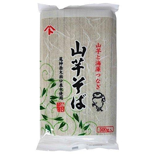 創健社 山芋そば 500g ×4セット