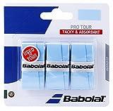 Babolat(バボラ) 硬式テニス バドミントン グリップテープ PRO TOUR X3 (3本入) BA653037 ブル-(509)