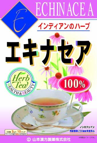 山本漢方製薬 エキナセア茶100% 3gX10H