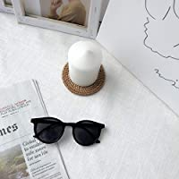 GUGU 屋外の眼鏡のアセテートフレームを運転するレトロの分極されたレディースサングラスの保護 (色 : ブラック)