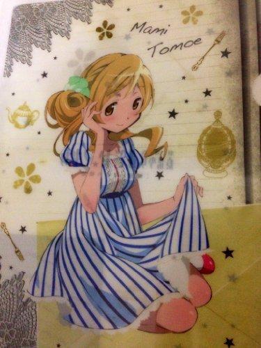 魔法少女まどか☆マギカ  ローソン限定 クリアファイル 巴マミver