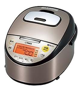 タイガー IH炊飯器 「炊きたて」 5.5合 ブラックステンレス JKT-G100-XK