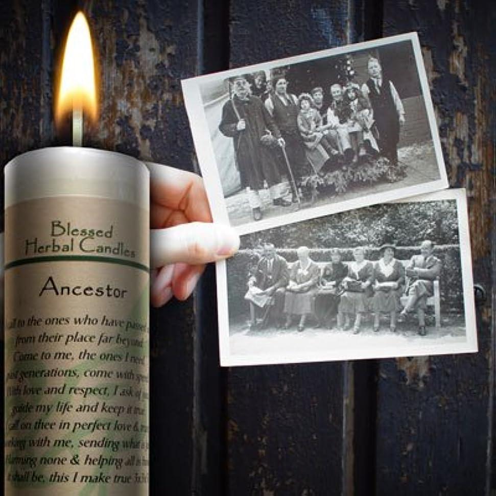 層本質的ではない候補者Blessedハーブ祖先Candle