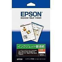 エプソン インクジェット普通紙 A5 100枚 KA5100NP 【まとめ買い5冊セット】