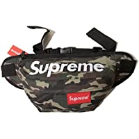 Supreme Waist Bag Fanny Pack Outdoor Sport Pouch Military Camping Hike Crossbody Green Camouflage
