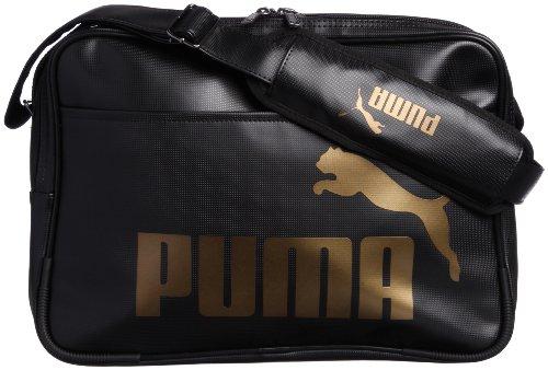 [プーマ] PUMA TS Mat Type A Shoulder M 071466 07 (Black-Black-Gold)