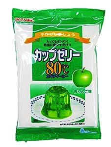 かんてんぱぱ カップゼリー 青りんご味100gX5袋