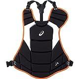 アシックス(asics) 野球 ソフトボール用 プロテクター BPP671 Fサイズ ブラック/オレンジ BPP671 ブラック/オレンジ F