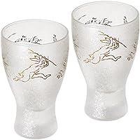 アデリア 日本酒グラス100mlペアセット プレミアム鳥獣戯画シリーズ S-6213