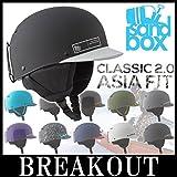 最新 SANDBOX/サンドボックスヘルメット CLASSIC 2.0 SNOW クラシック アジアフィット スノーボード スケート キングス L/XL BLACK