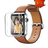 Apple Watch Series 2 ケース Benuo Apple Watch Series2 クリアケース PC 超軽量 脱着簡単 傷防止 ウォッチ液晶保護ケース 透明 アップルウォッチ シリーズ 2 カバー (38mm)