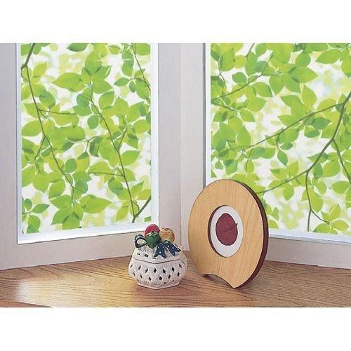 GE-9235窓飾りシート(プリントタイプ)92cm丈×90cm巻グリーン