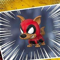 YLWWAN アベンジャーズ4スパイダーマン手COS毒虐殺揺れヘッドドールモデル車の装飾玩具 (色 : Dead dog)