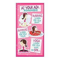 ホールマーク面白い誕生日カードat Your Age–Medium