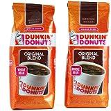 ダンキンドーナツ コーヒー オリジナル【ホールビーン】2パック DUNKIN' DONUTS Coffee [並行輸入品]