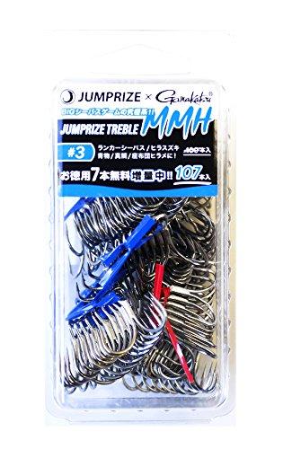 ジャンプライズ TREBLE MMH #3 107本入.