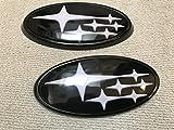 スバルWRX S4 WRX STI エンブレム 【ステッカーサヨナラ】白い星!リア・フロントエンブレムVAB VAG