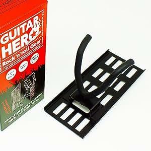 壁美人 ホチキスで取付壁掛けフック 石こうボード専用ギター掛け ギターヒーロー 黒 痕が目立たない GH-02B