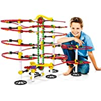 Quercetti Skyrail Ottovolante Elevator Playset, 360 Pieces marbles [並行輸入品]