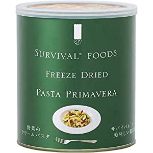 サバイバルフーズ 大缶 野菜のクリームパスタ 600g