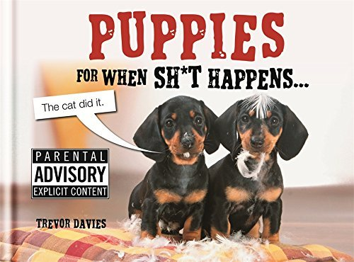 Puppies For When Sh*t Happens (English Edition)