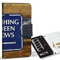 スマコレ ploom TECH プルームテック 専用 レザーケース 手帳型 タバコ ケース カバー 合皮 ケース カバー 収納 プルームケース デザイン 革 外国 看板 写真 011805