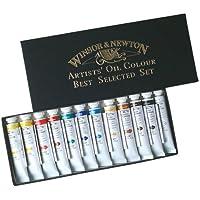 ウィンザー&ニュートン 油絵具 ウィンザー&ニュートン アーチスト オイルカラー 12色セット Aセット 21ml