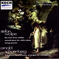 Wolpe;Str.Qtet/Schoenberg;5 Pi