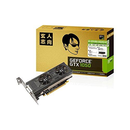 玄人志向 ビデオカードGEFORCE GTX 1050搭載 GF-GTX1050-2GB/OC/LPの詳細を見る
