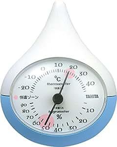 タニタ 温湿度計 ブルー TT-510-BL