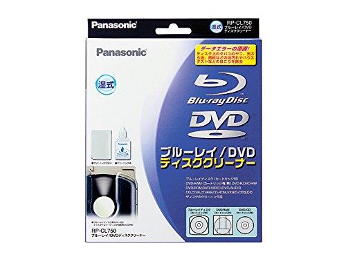 Panasonic ブルーレイ/DVDディスククリーナー RP-CL750