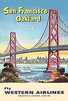 Western Airlines–San FranciscoヴィンテージポスターC。1953 12 x 18 Art Print LANT-65425-12x18