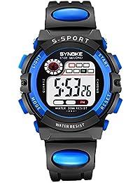 時計、子供キッズボーイズガールズ腕時計、デジタルスポーツ腕時計、デジタルLED防水多機能withクロノグラフアラーム日付ウィンドウ腕時計