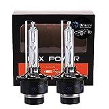 Briteye(まぶしい) ヘッドライトD4S HID バルブ 35W 高品質 純正交換用 バルブ 6500K 12V 車用(2個入り)