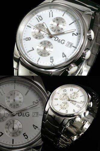 ドルチェ&ガッバーナ D&G サンドパイパー クロノグラフ 腕時計 3719770110 (メンズ) [並行輸入品]