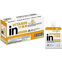 ウイダー inゼリー マルチビタミン カロリーゼロ オレンジ味 (180g×6個) 栄養補助ゼリー 11種類のビタミン配合 カロリー0kcal
