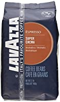 Lavazza Super Crema Espresso - Whole Bean Coffee, 2.2-Pound Bag 2 Pack (Packaging May Vary) by Lavazza