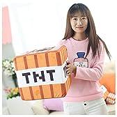 Minecraft(マインクラフト)エンダーマン TNT クッション 抱き枕 ぬいぐるみ コスプレ道具 (30cm)