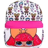 L.O.L. Surprise! 12 inch All Over Print Backpack - Glitter Queen
