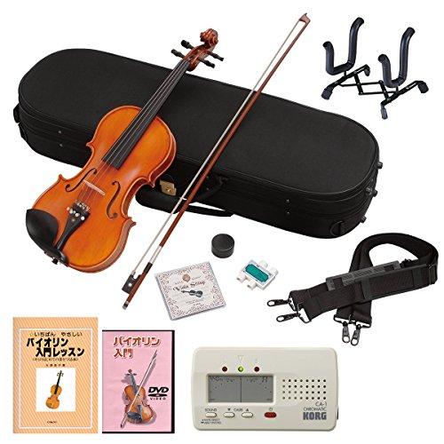Hallstatt ハルシュタット ヴァイオリン V-28 4/4サイズバイオリン 初心者入門DVD V-28 N  10 SET-DVD
