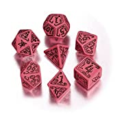 Call of Cthulhu Official CoC Dice Set (ピンク&ブラック) [正規輸入品]
