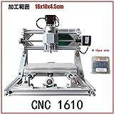 CNC1610 卓上フライス ルータ 10個ドリル付き [並行輸入品]