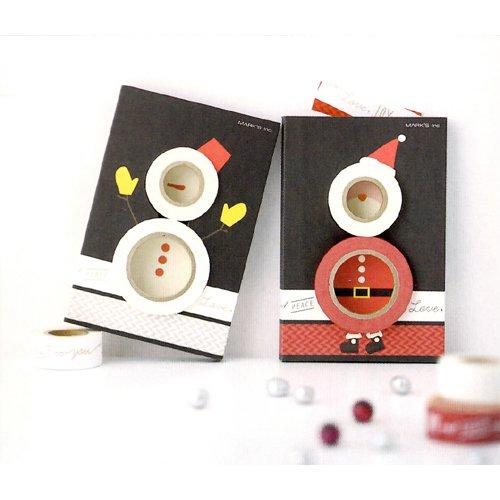マークス マスキングテープ・クリスマスプチギフトセット/マステ/サンタ MST-MKT35-A