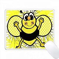 かわいいカントリースマイルビー PC Mouse Pad パソコン マウスパッド